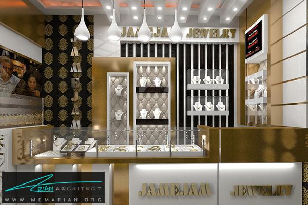 طراحی فضای داخلی طلا فروشی (2)