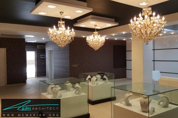 طراحی اختصاصی دکوراسیون جواهر فروشی (3)