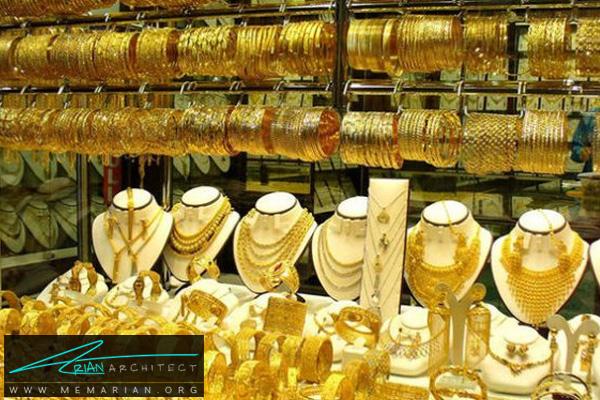 دکوراسیون داخلی مغازه طلا فروشی (1)