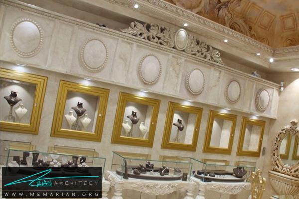 دکوراسیون داخلی مغازه طلا فروشی (4)