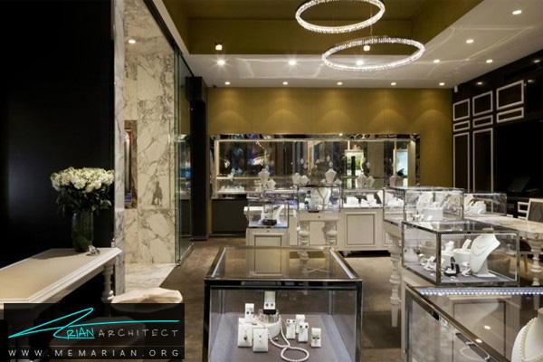 دکوراسیون داخلی مغازه طلا فروشی (2)