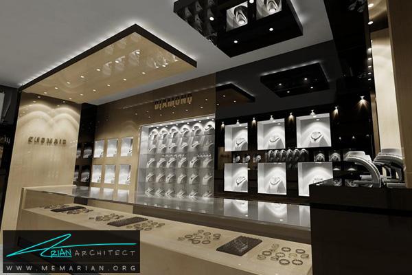 طراحی دکوراسیون داخلی جواهر فروشی (1)