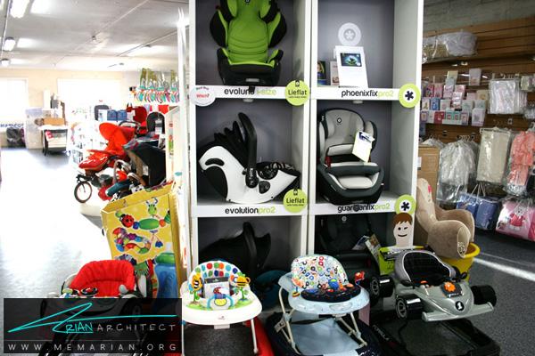 طراحی فضای داخلی فروشگاه سیسمونی کودک و نوزاد (1)