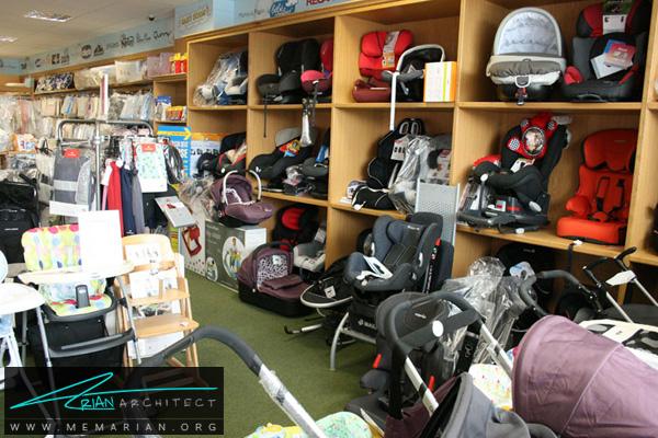 طراحی فضای داخلی فروشگاه سیسمونی کودک و نوزاد (3)