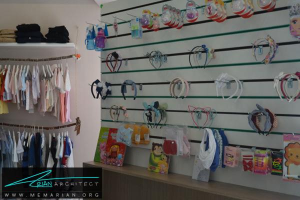 طراحی فضای داخلی فروشگاه سیسمونی کودک و نوزاد (2)