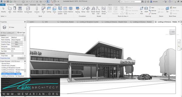 بهترین نرم افزارهای معماری -(2) Revit