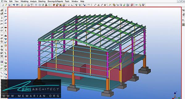 بهترین نرم افزارهای معماری -(2) Tekla Structures