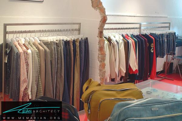 طراحی دکوراسیون فروشگاه پوشاک زنانه