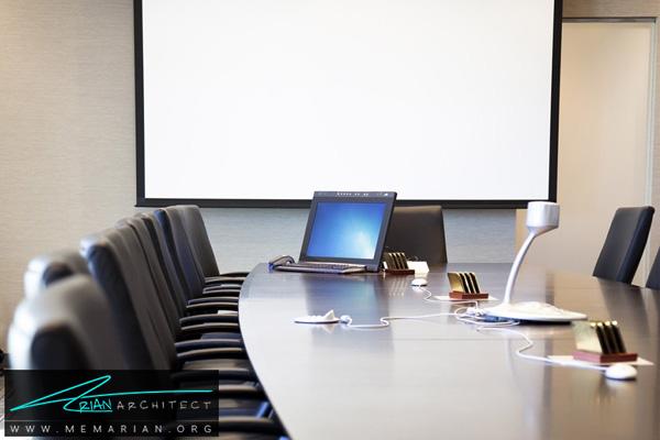 طراحی دکوراسیون و معمای اتاق جلسه