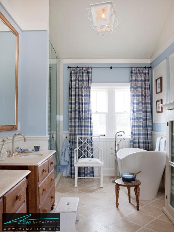حمام شیک، ساده و کاربردی -تزیین دکوراسیون حمام