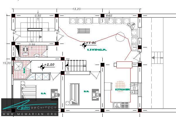 پلان-اصطلاحات معماری