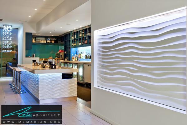 پنل سه بعدی-اصطلاحات معماری