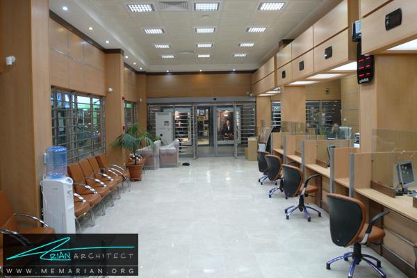 دکوراسیون و معماری داخلی بانک (1) - طراحی داخلی شعبه بانک