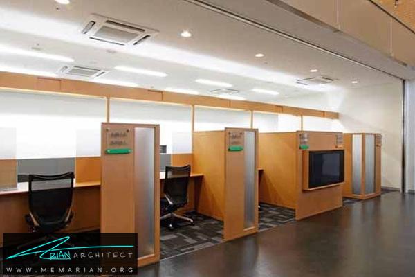 طراحی دکوراسیون داخلی بانک (4) - طراحی داخلی شعبه بانک