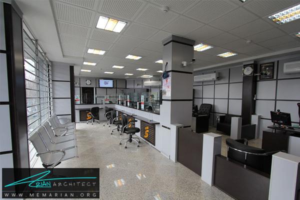 طراحی داخلی شعبه بانک (1)