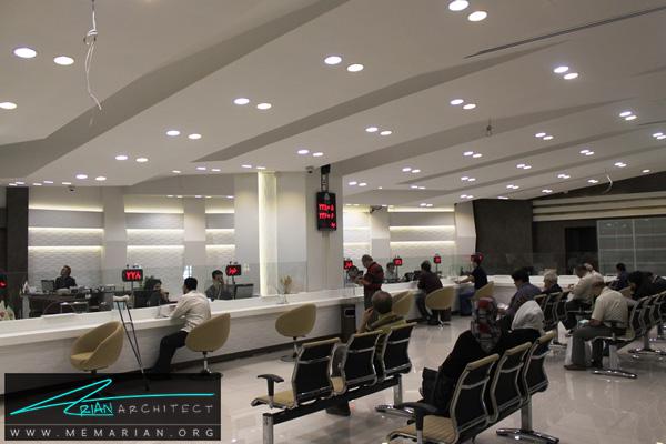 طراحی داخلی شعبه بانک (3)