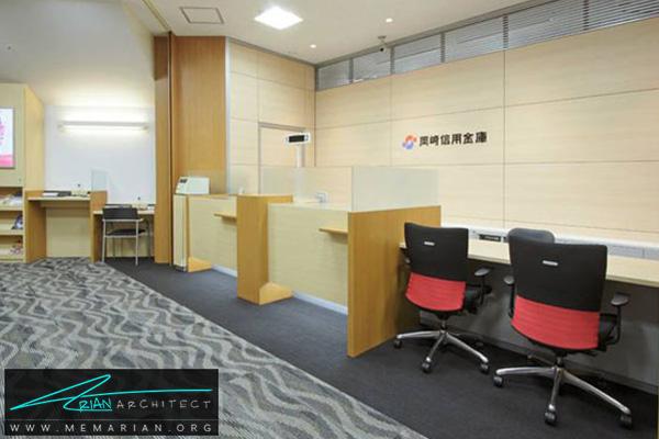دکوراسیون و معماری داخلی بانک (3) - طراحی داخلی شعبه بانک