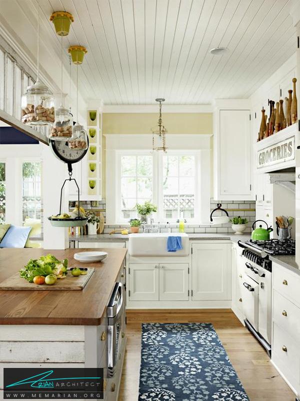 آشپزخانه رویای روستایی -دکوراسیون آشپزخانه لوکس