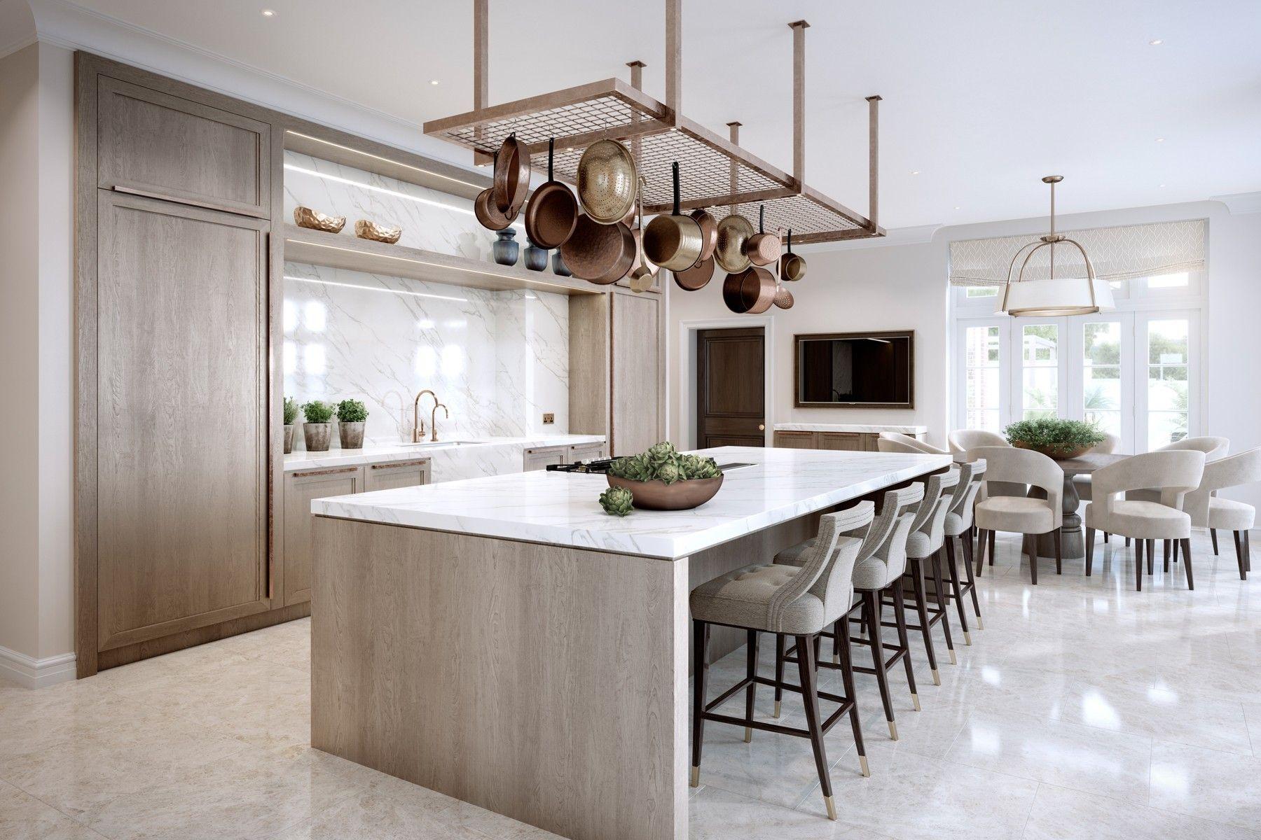 مدل آشپزخانه های مدرن 2018 با کابینت های شیک