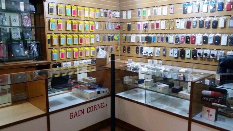 دکوراسیون مغازه موبایل فروشی