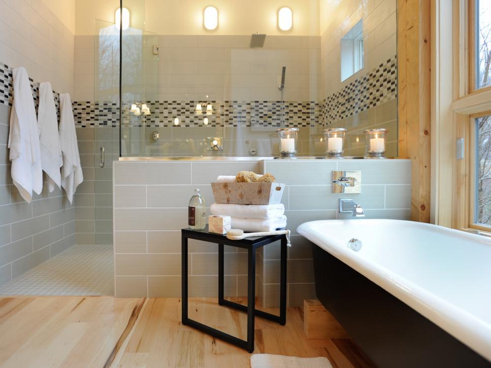 ایده هایی برای داشتن دکوراسیون حمام مدرن و امروزی