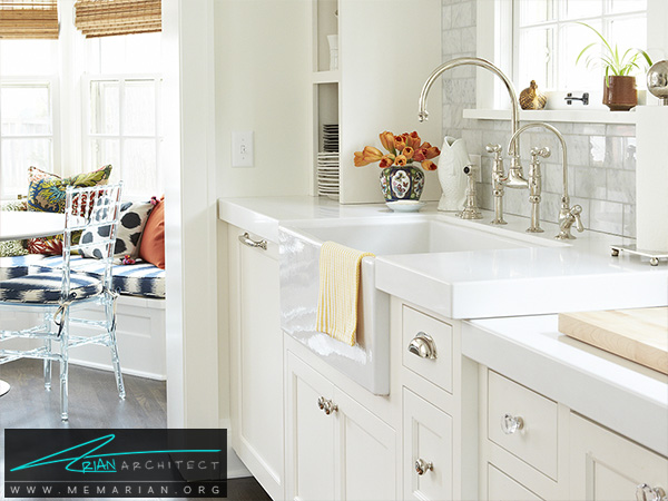 دکوراسیون این آشپزخانه با ایمیل طراحی شده است! -دکوراسیون آشپزخانه شیک