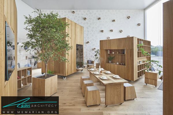 چیدمان های مختلف برای خانه بدون جداکننده (2) -نمایشگاه چشم انداز خانه ها در چین 2018