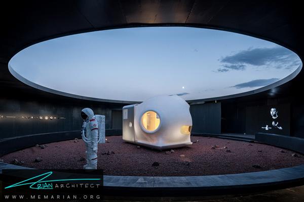 خانه ای برای زندگی در خارج زمین (2) -نمایشگاه چشم انداز خانه ها در چین 2018