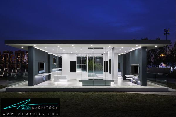 خانه بی نهایت با معماری و طراحی داخلی فوق العاده مدرن (2) -نمایشگاه چشم انداز خانه ها در چین 2018