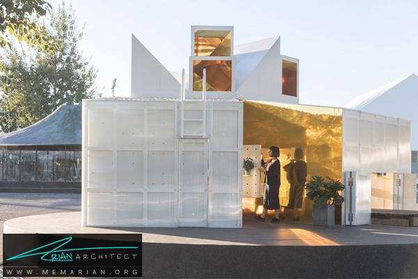 طراحی و ساخت خانه شهری کوچک و دنج (2) -نمایشگاه چشم انداز خانه ها در چین 2018