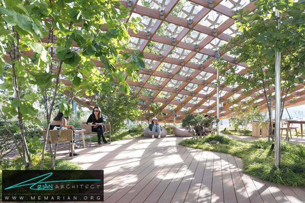 پروژه ای با هدف زندگی در باغ توسط معماران MAD -نمایشگاه چشم انداز خانه ها در چین 2018