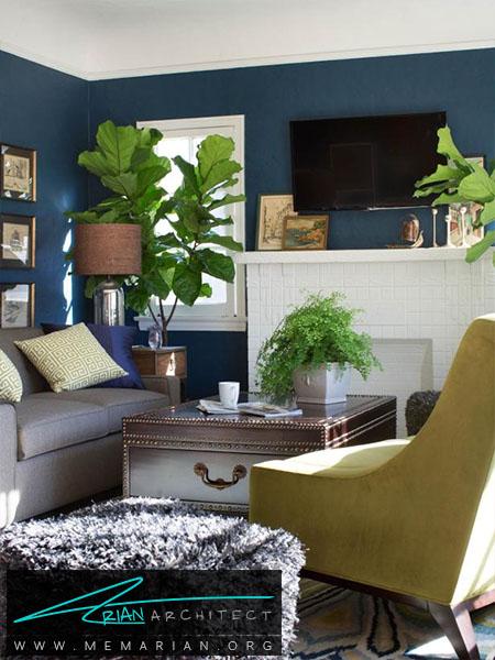 احساس عمیق در فضا -ترکیب رنگ اتاق
