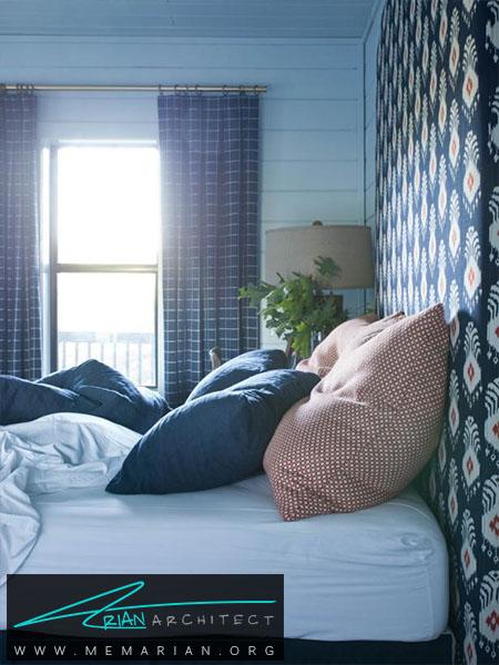 آسمان در اتاق خواب شما -ترکیب رنگ اتاق