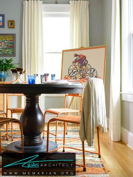 استفاده از رنگ بژ در دکوراسیون -ترکیب رنگ اتاق