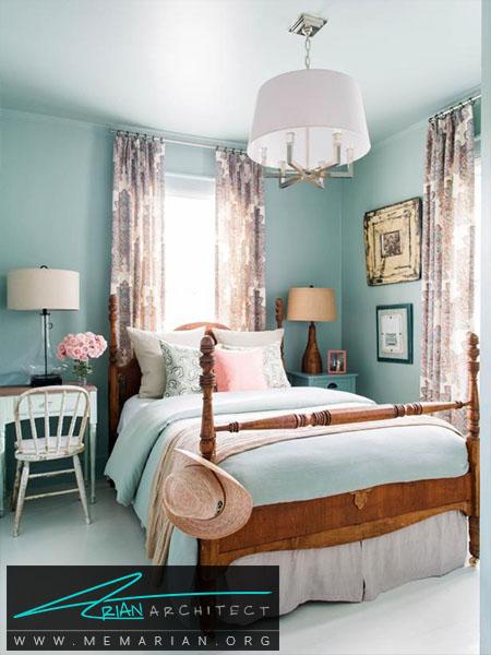 خاکستری مایل به سبزیا مغز پسته ای -ترکیب رنگ اتاق