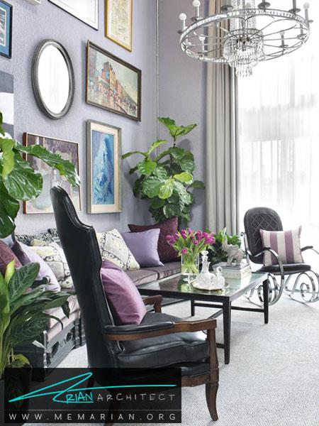 رنگ های کلاسیک در محیط -ترکیب رنگ اتاق