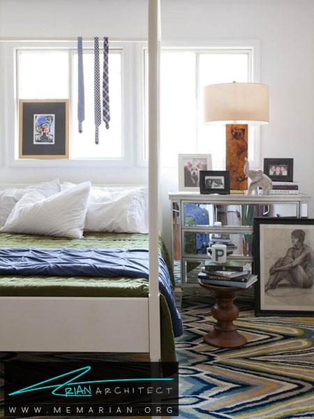 به کار گیری رنگ سفید در دکوراسیون -ترکیب رنگ اتاق