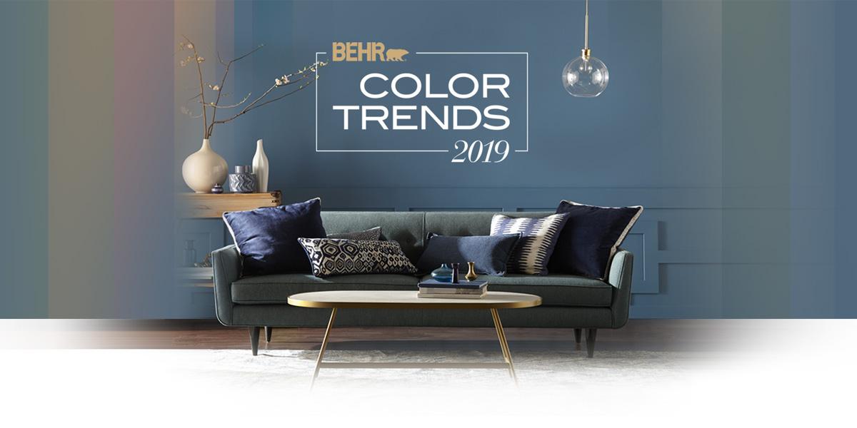15 دکوراسیون با الهام از رنگ های منتخب سال 2019
