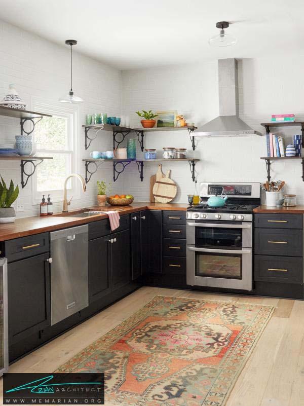 آشپزخانه-دکوراسیون بخش های مختلف خانه