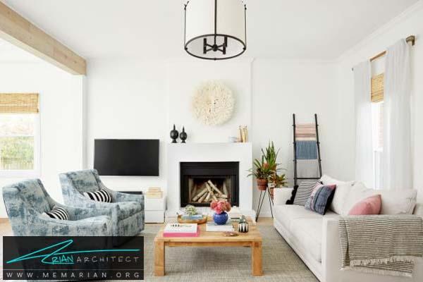 اتاق پذیرایی-دکوراسیون بخش های مختلف خانه