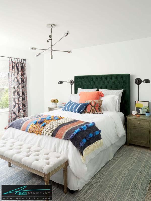اتاق خواب مهمان -دکوراسیون بخش های مختلف خانه