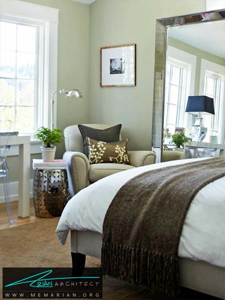 دکوراسیون آرام در منزل با کمک رنگ آرامش بخش خاکستری -دکوراسیون خاکستری