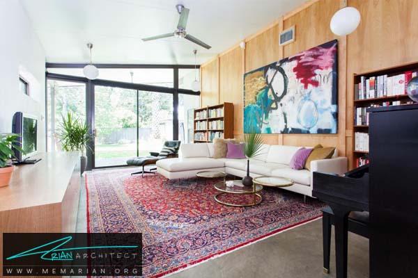 قالیچه شرقی و مبلمان راحتی -مبلمان خانگی جدید