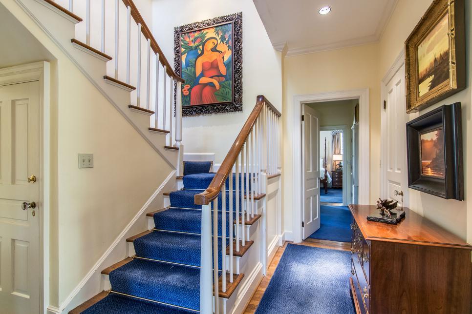 10 راه برای زیباتر کردن نمای راه پله خانه شما