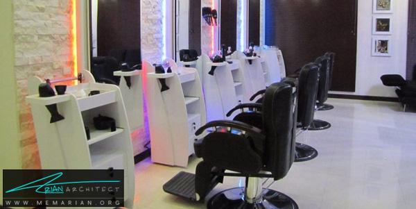 طراحی داخلی مغازه آرایشگاه (2) - دکوراسیون آرایشگاه مردانه