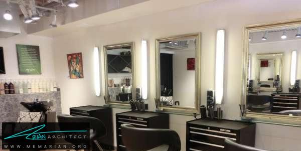 طراحی داخلی مغازه آرایشگاه (3) - دکوراسیون آرایشگاه مردانه