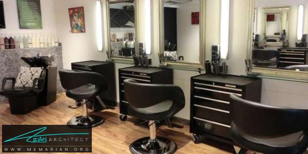 طراحی داخلی مغازه آرایشگاه (4) - دکوراسیون آرایشگاه مردانه