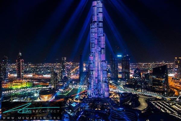 برج خلیفه دبی، بلندترین آسمان خراش دنیا (2)