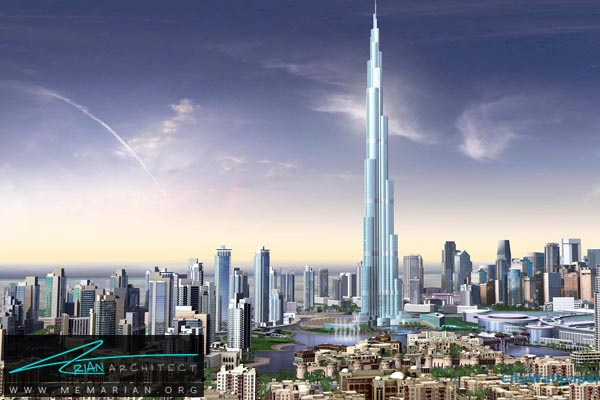 برج خلیفه دبی، بلندترین آسمان خراش دنیا (3)