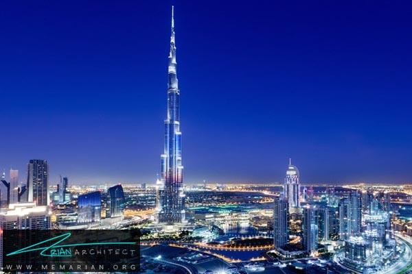 برج خلیفه دبی، بلندترین آسمان خراش دنیا (4)